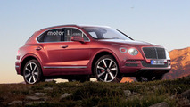 Bentley Bentayga Junior and Coupe renders