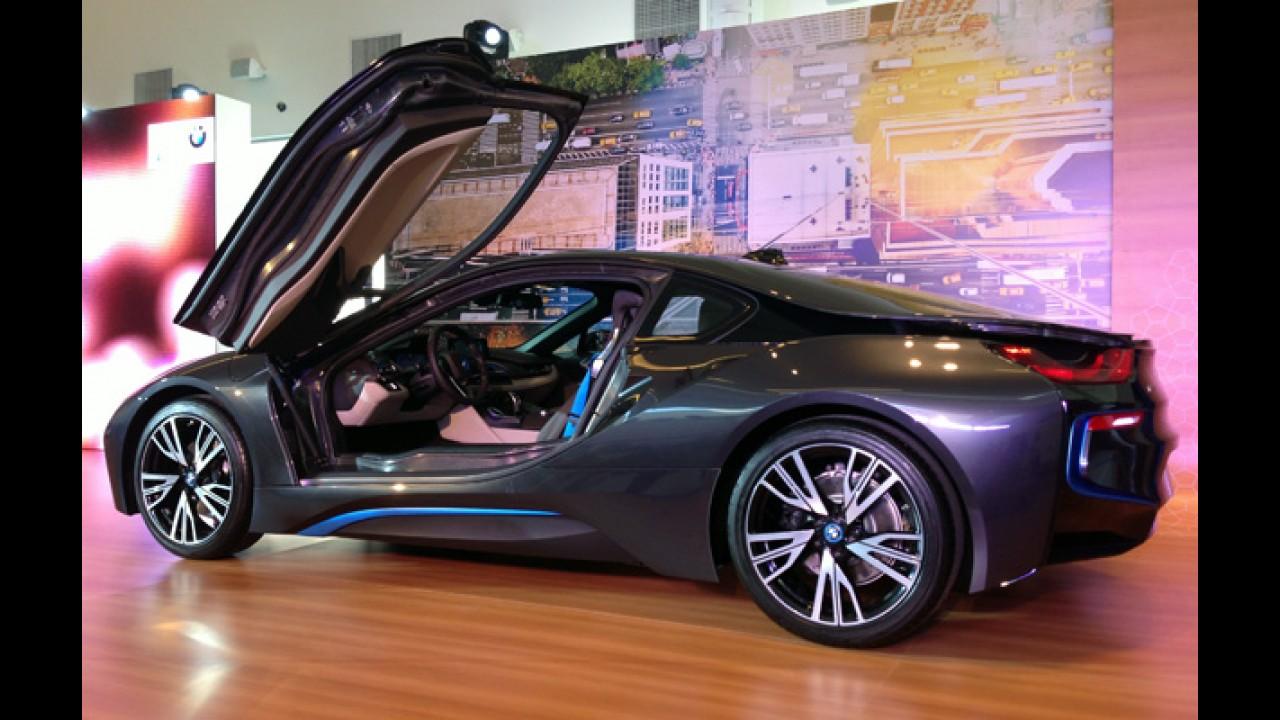 BMW oferece recarga de carros elétricos em shoppings centers