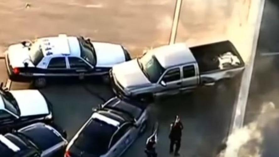 Filmleri aratmayan polis kovalamacası