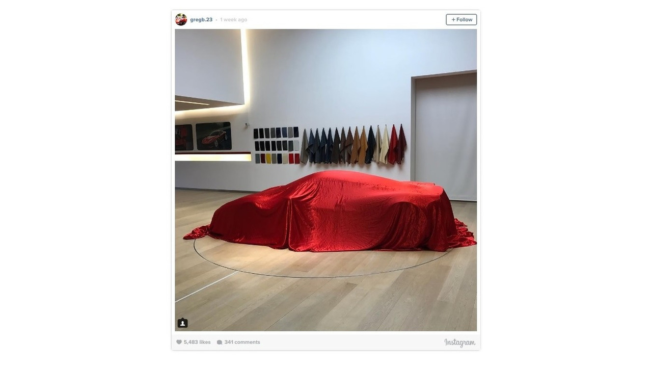 Possible Ferrari 458 with V12 engine