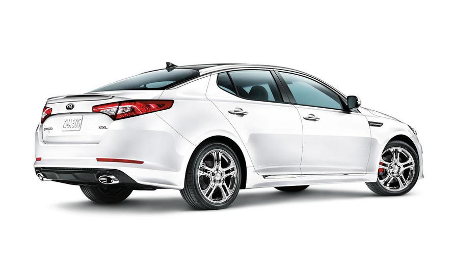 Kia Optima SX Limited introduced in Chicago