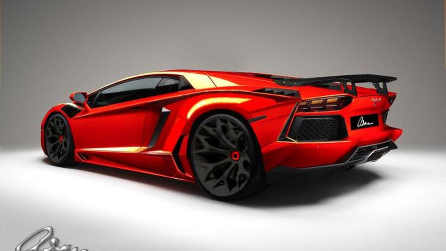 Lamborghini Aventador by ASMA previewed