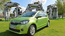 Skoda Citigo Citihenge art sculpture 20.06.2012