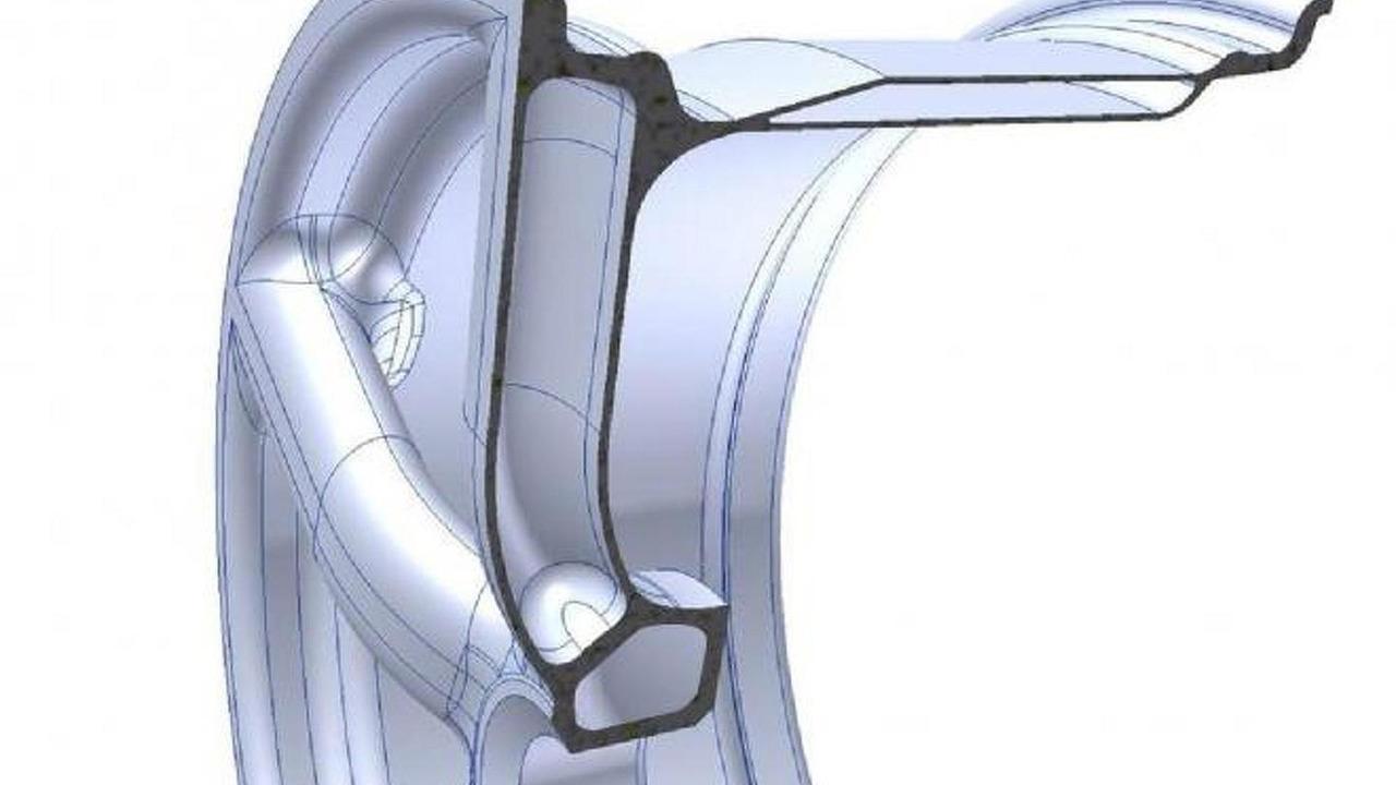 2013 Koenigsegg Agera R carbon fiber wheel illustration 02.03.2012