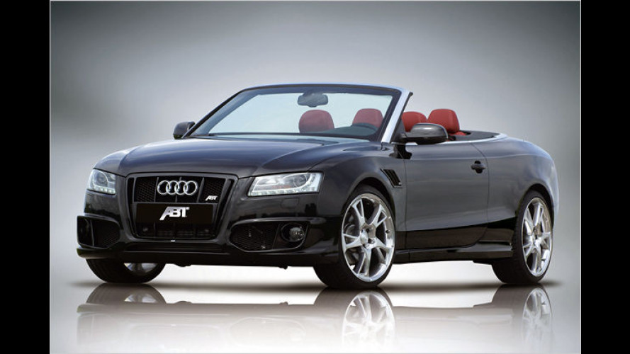 Allgäuer Audi: Das neue AS5 Cabrio vom Tuner Abt