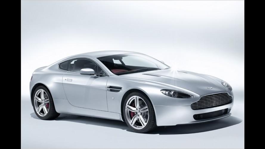 Frisch gemacht: Aston Martin überarbeitet den V8 Vantage