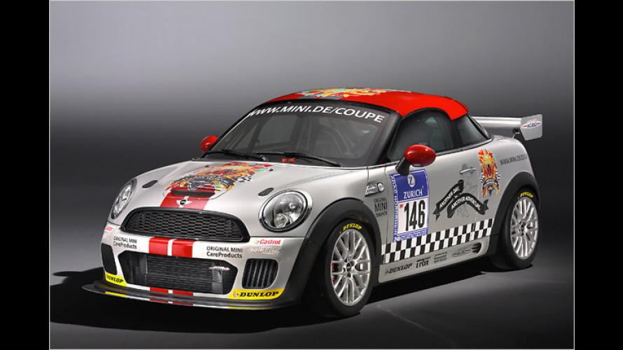 Mini Coupé: Premiere auf dem Nürburgring