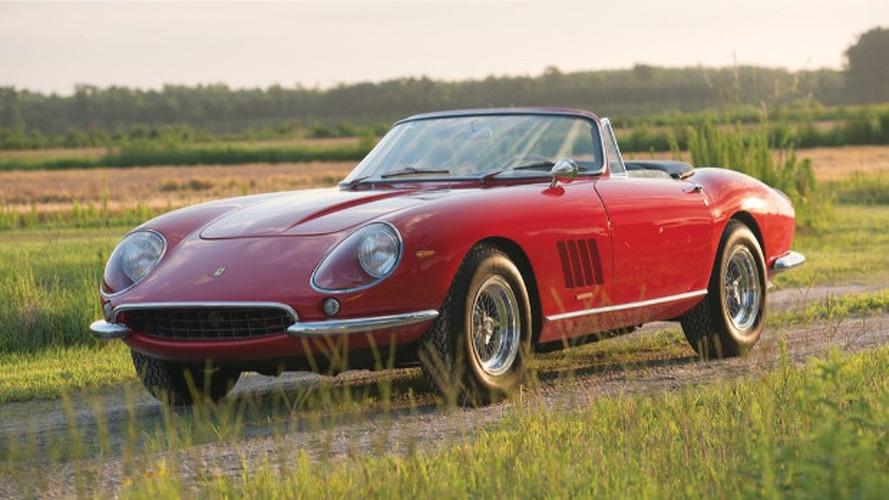 Bugüne kadar satılmış en pahalı 10 Ferrari