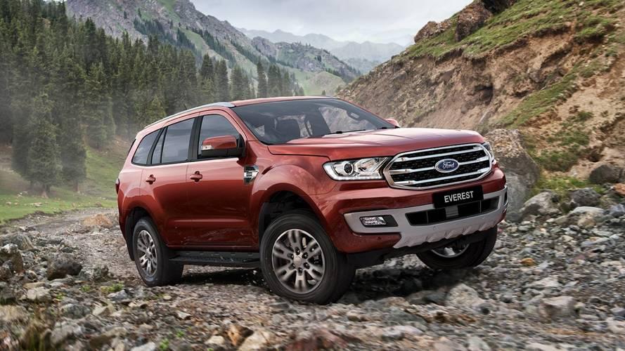 SUV da Ranger, Ford Everest também ganha novo visual e 10 marchas
