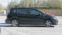 2008 Mazda5 Facelift spy photos