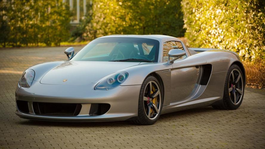 Porsche Carrera GT could fetch $575k at auction
