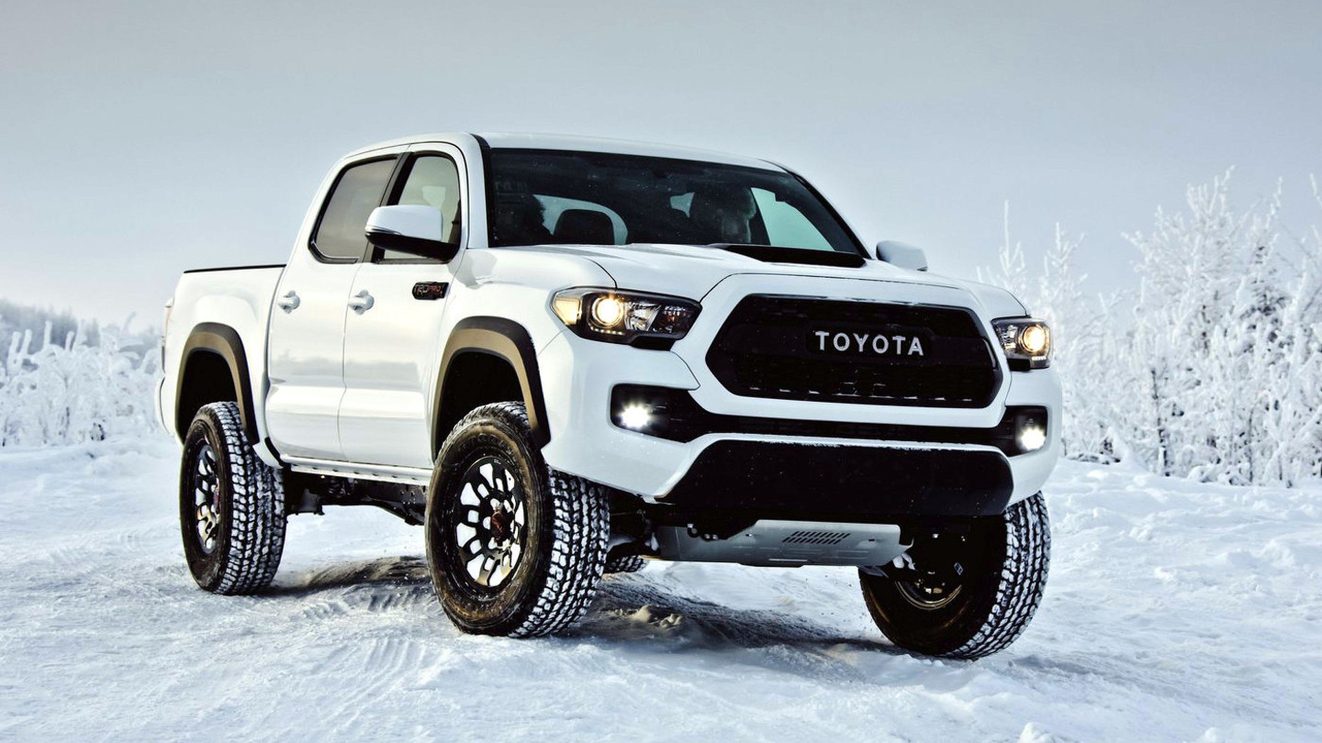 2017 toyota tacoma trd pro debuts with off road goodies video. Black Bedroom Furniture Sets. Home Design Ideas