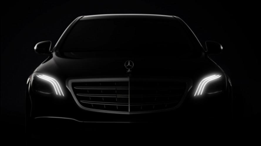 Mercedes Classe S, il restyling al Salone di Shanghai