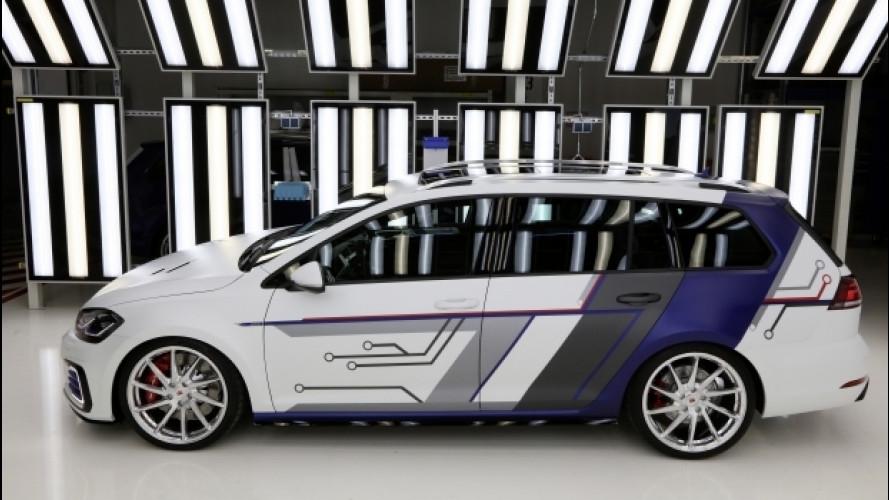 Volkswagen Golf GTE Variant ImpulsE, ancora più ibrida