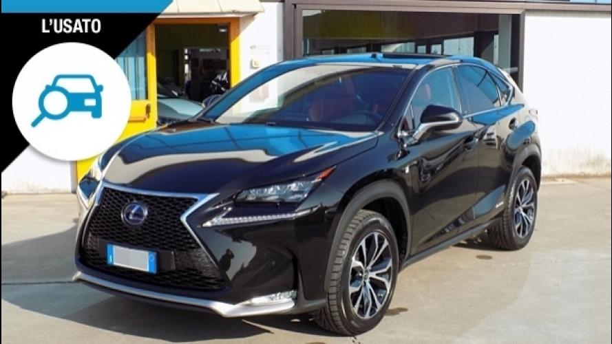 Lexus NX, se l'usato è per distinguersi
