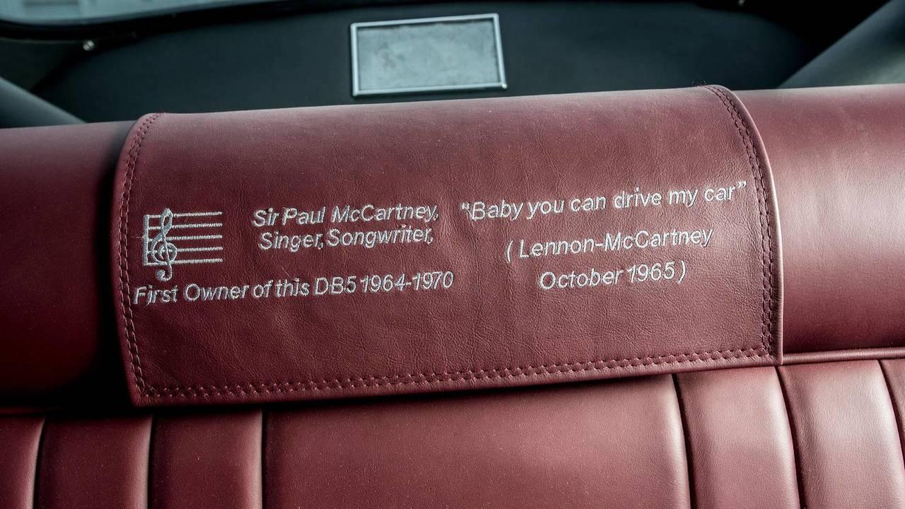 Ex-McCartney DB5 auctioned