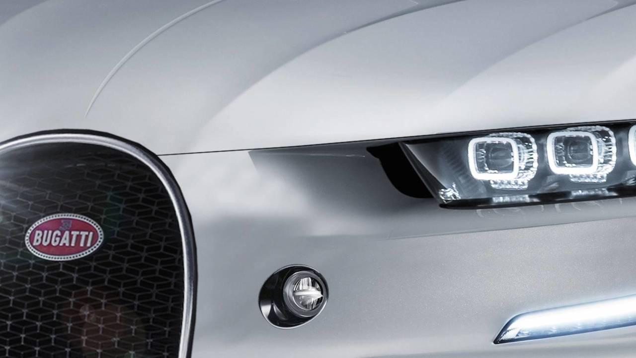 Render Bugatti SUV 2020