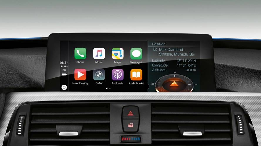 Get Ready To Pay $80 A Year For Apple CarPlay In Your New BMW