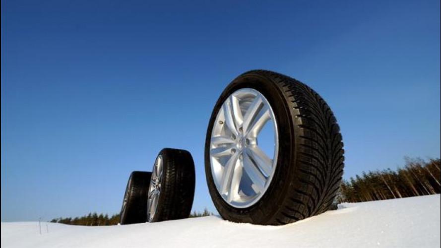 I produttori di pneumatici invernali non vogliono vietare le catene da neve