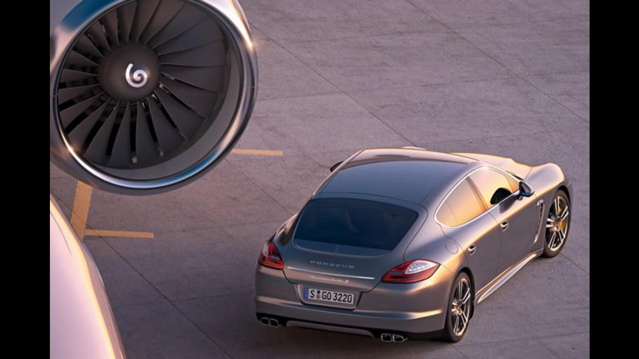 Porsche revela o Panamera Turbo S - Motor de V8 de 550 cv tem consumo de 9,7 km/litro
