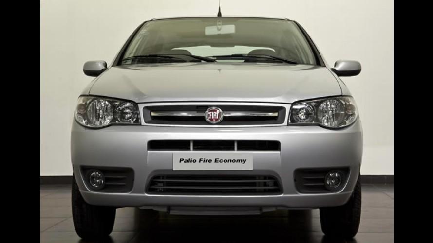 Fiat Palio Fire Economy 2011 chega novos detalhes e direção hidráulica por R$ 26.570