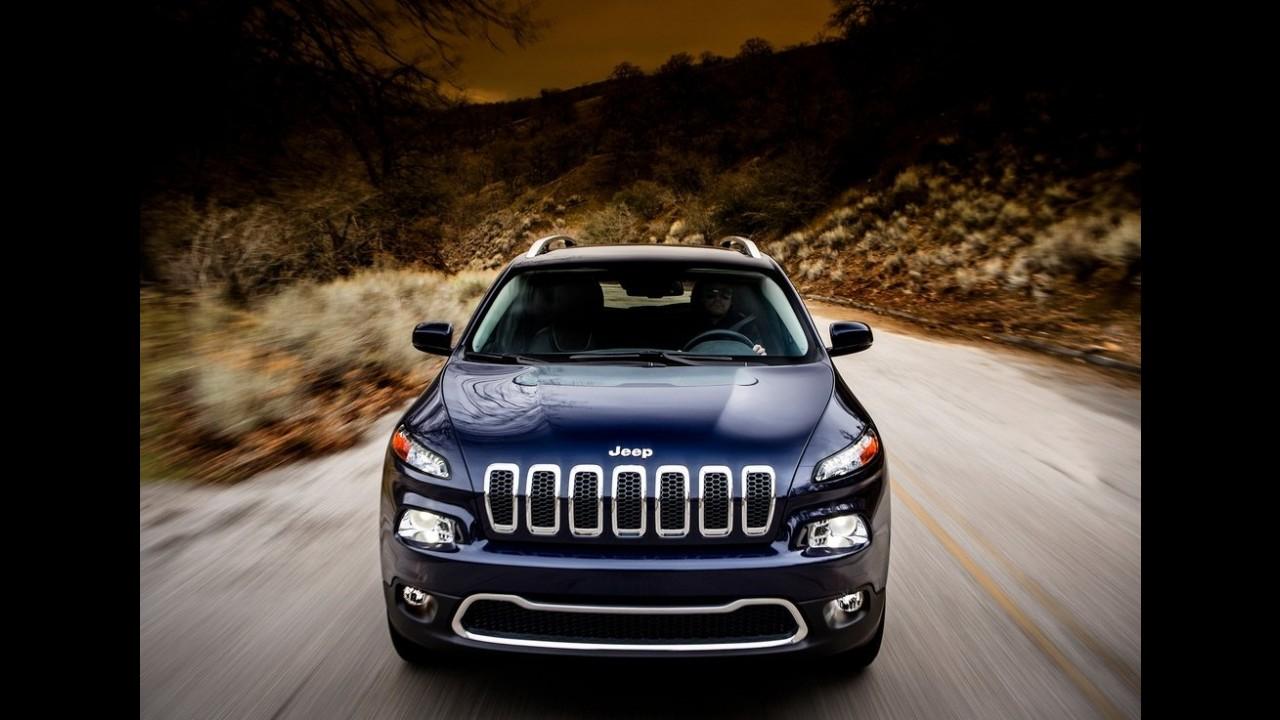 Jeep divulga primeiras imagens e detalhes oficiais do novo Cherokee 2014
