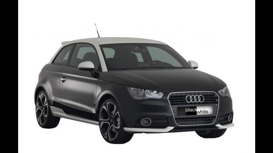 Audi A1 ganha versão Black&White em alguns países europeus
