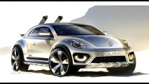 Beetle Dune Concept: versão aventureira será uma das atrações da VW em Detroit