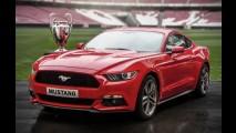 Novo Mustang recebe mais de 9.300 pedidos na Final da Champions League