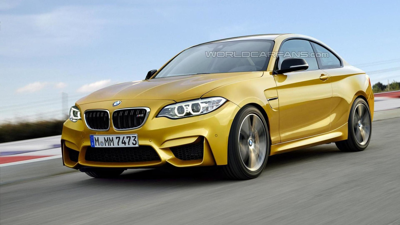 2016 BMW M2 Coupe render