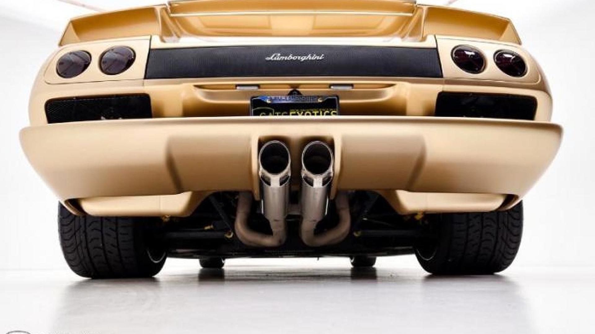 Выхлопные трубы Lamborghini Diablo 6.0 SE