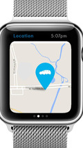 Volkswagen app for the Apple Watch