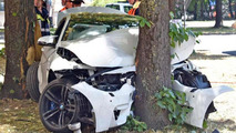 BMW M4 crash in Germany