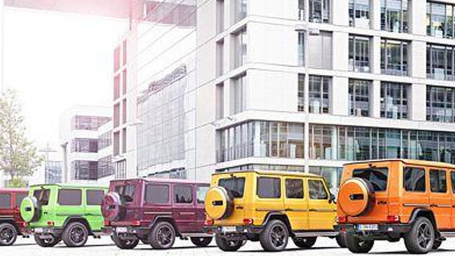 Mercedes-Benz G63 and G65 get Crazy Color Edition paint option priced from €15,348
