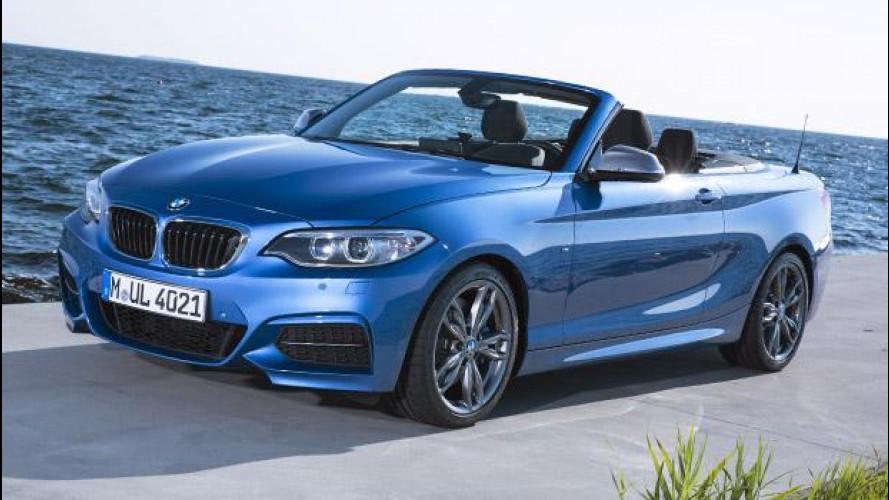BMW Serie 2 Cabrio, aria nuova fra le compatte