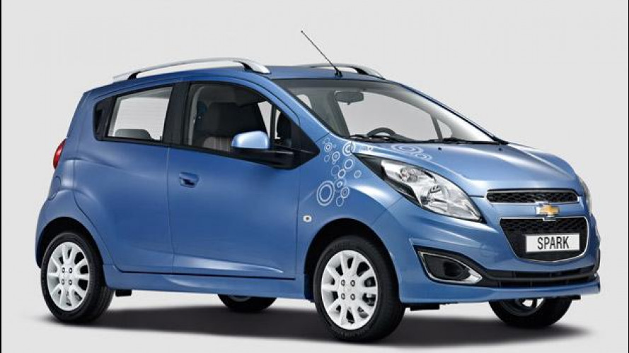 Chevrolet Spark Bubble special edition