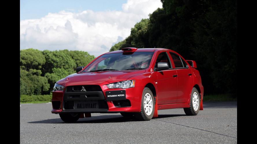 La Mitsubishi Lancer torna nel WRC… come apripista