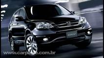 Honda divulga primeira imagem do utilitário CR-V reestilzado
