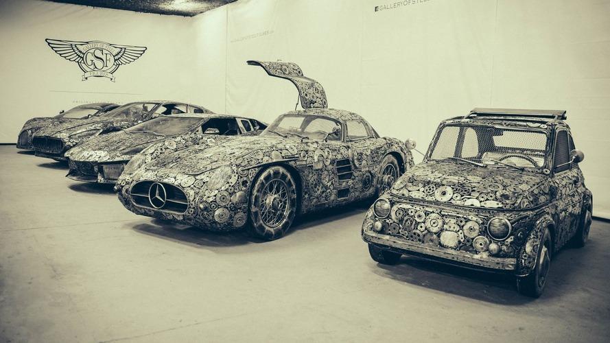 Quand l'organe mécanique se greffe à l'art automobile