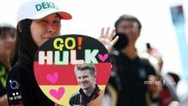 Nico Hulkenberg, Sahara Force India F1 fan