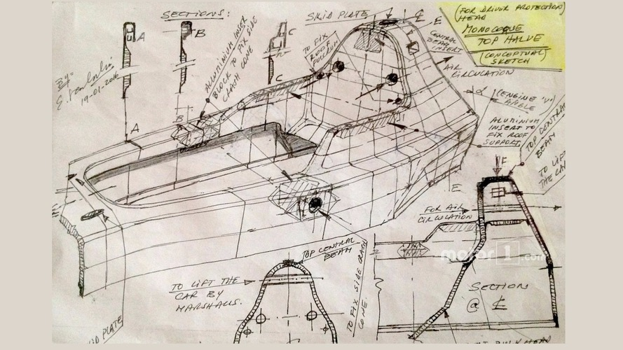 Enrique Scalabroni active windscreen sketch