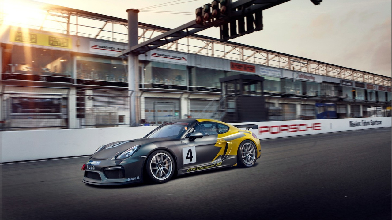 Porsche Cayman GT4 Clubsport Manthey-Racing