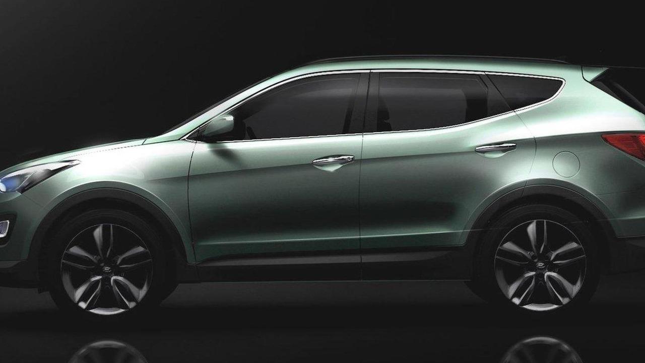 2013 Hyundai Santa Fe / ix45 official preview image 12.03.2012