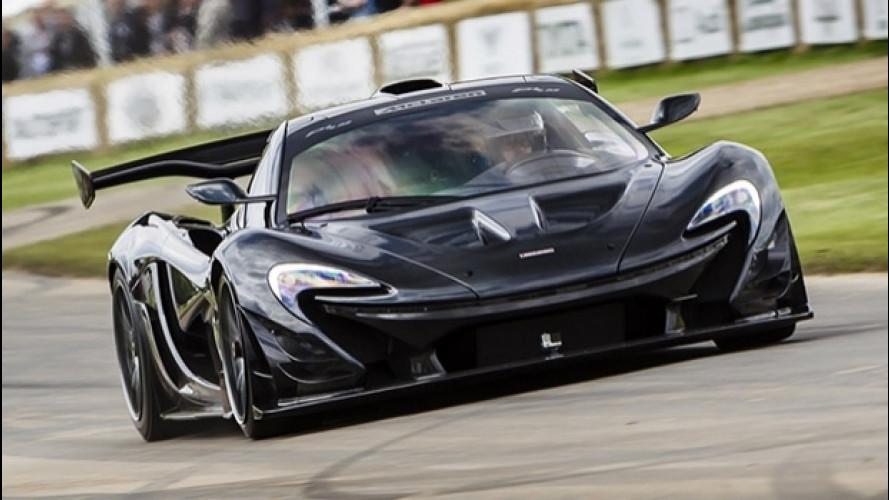 McLaren P1 LM, record da paura a Goodwood [VIDEO]