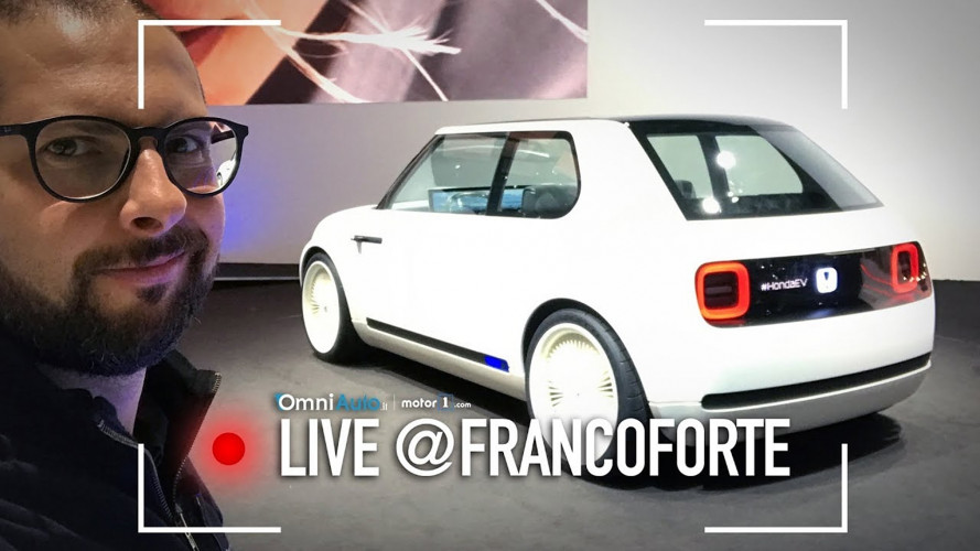 Salone di Francoforte: Honda Urban EV Concept per stupire [VIDEO]
