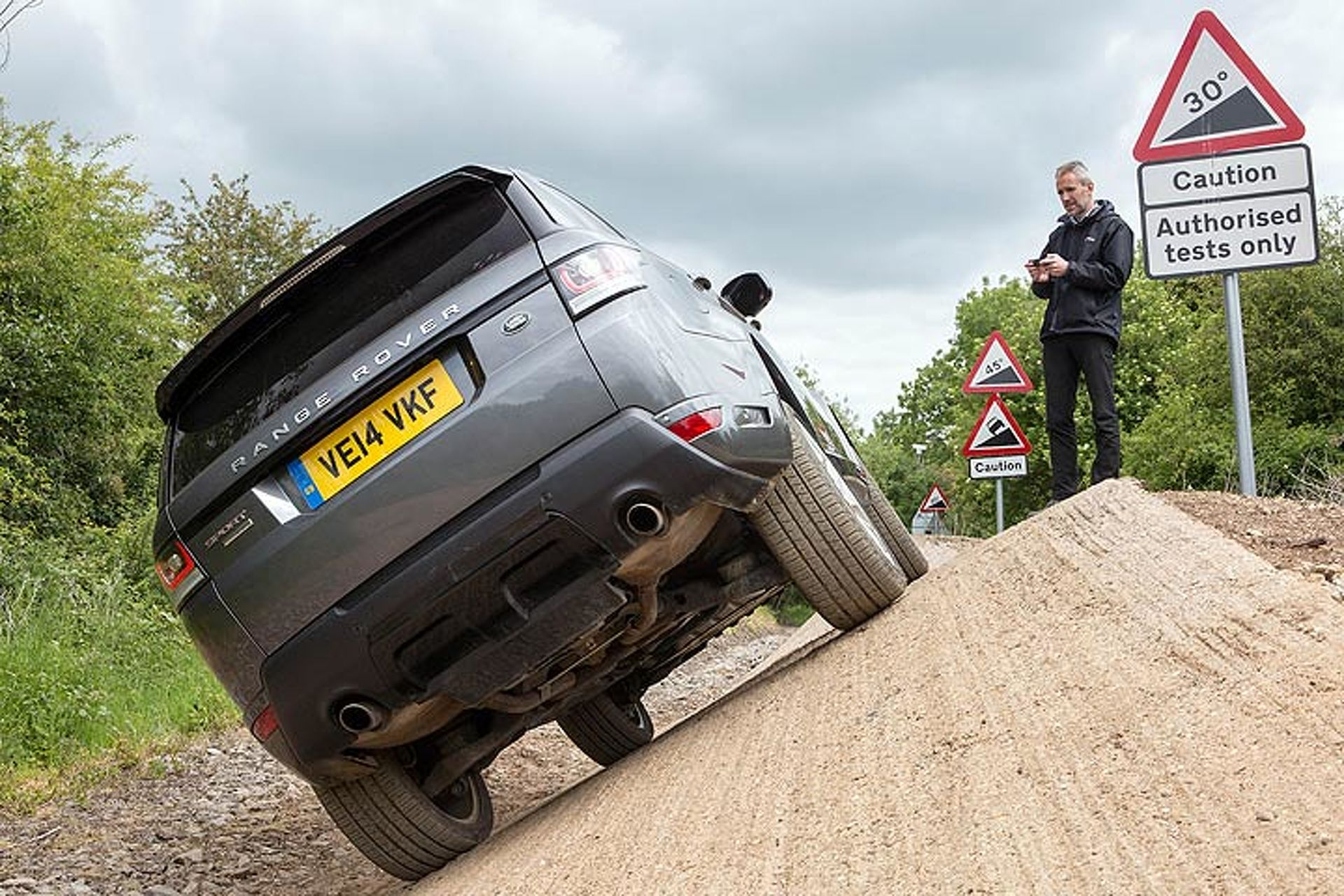 Range Rover Has Created a Remote Controlled SUV