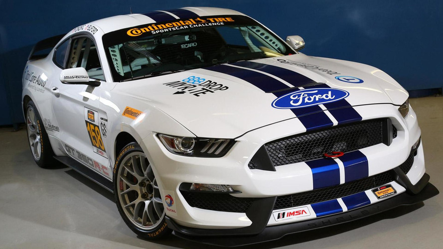 Ford Shelby GT350R-C racecar unleashed