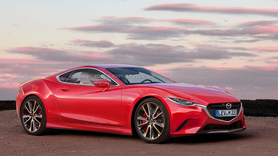 Mazda RX-7 rendering shows what we're missing