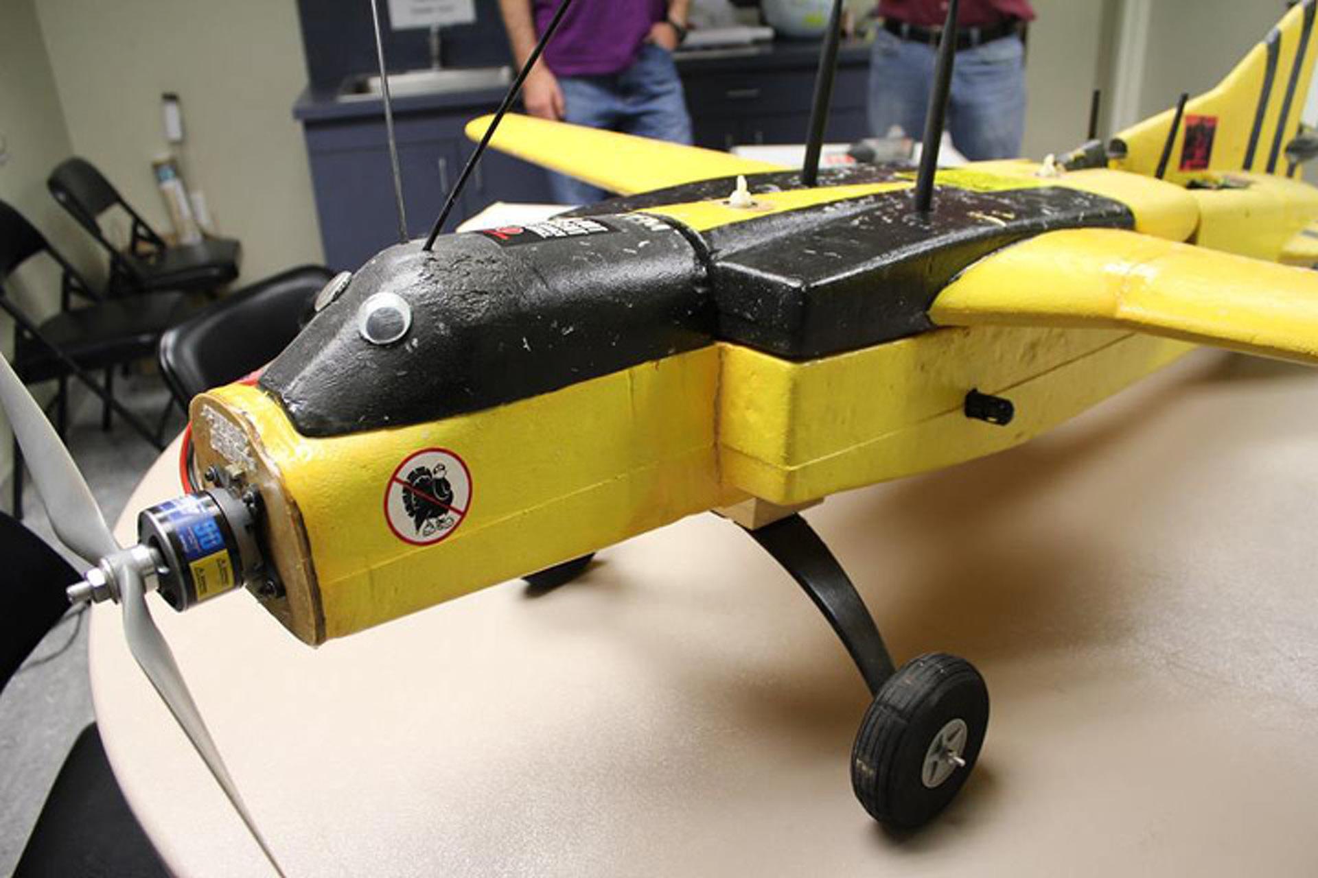 Homebuilt Spy Drone Glides into International Spy Museum