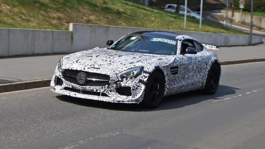 Hardcore Mercedes-AMG GT spied testing on Nurburgring